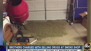 50 pounds of spice mixed with fentanyl found in Phoenix home - Video