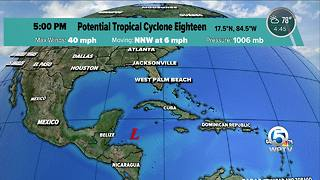 Potential Tropical Cyclone Eighteen has formed - Video