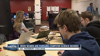 Local college notices more women pursuing computer science degrees