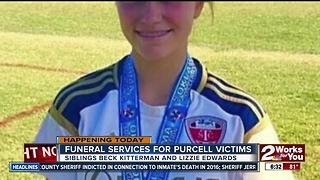 Two funeral services will be held for Purcell victims - Video