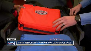 Ask the Expert: How first responders prepare for the dangerous cold - Video