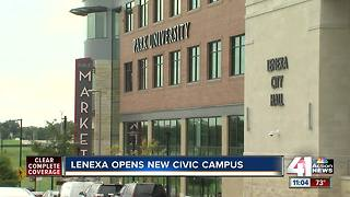City of Lenexa opens new Civic Campus - Video