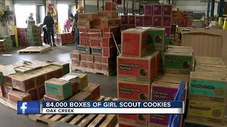Girl Scout Cookies to be delivered to the public