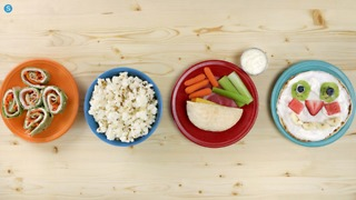 4 easy and healthy snacks children can make - Video