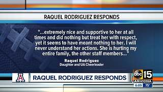 Daughter of Rich Rodriguez speaks out in defense of her father - Video