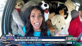On the way to the Las Vegas Rescue Mission | 13 Days of Giving - Video