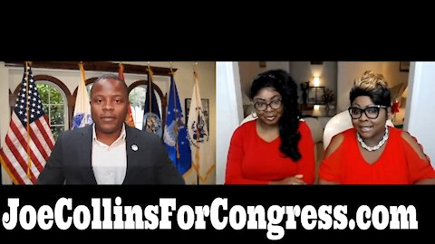 Diamond And Silk interviewed Joe Collins For Congress... He's running against Gansta-lean Maxine.