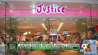 Justice stores take two years to send refunds - Video