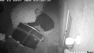 Deputies looking for suspects caught on video stealing AC units - Video