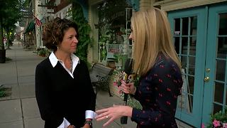 Mayor Laurie Howland of Milford 'kaught Ketchmark' - Video