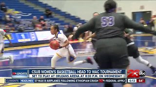 CSUB women's basketball head to WAC tournament