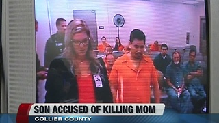 Son accused of murdering his mother - Video