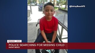 Delray Beach Police looking for missing 7-year-old boy