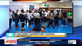 Good morning from Callaway Elementary School fourth graders!