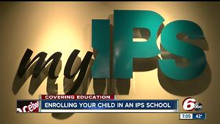 Enroll Indy opens this week for Indianapolis Public Schools - Video