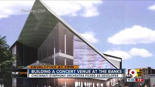 Joint Banks Steering Committee recommends Cincinnati Symphony Orchestra build concert venue