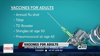 Consumer Reports: Vaccinations for adults