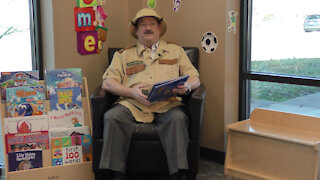 """Read Across America – Richard Parker reads """"Giraffes Can't Dance"""" by Giles Andreae"""