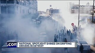 National spotlight shines on drifting drivers in Detroit