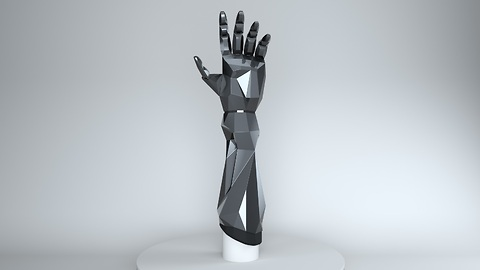 3D printable bionic arms available to the public