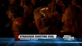 Candlelight vigil honors synagogue shooting victims