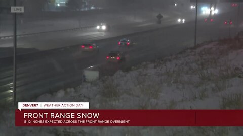 CDOT advises drivers to stay off the roads