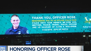 Funeral tomorrow for Officer Collin Rose - Video