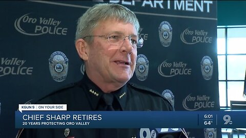 Long time Oro Valley Police Chief retires