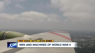 B-17 bomber visiting CLE is a reminder of the sacrifices World War II men made flying in the war - Video