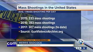 Floridians see 1 mass shooting every 2 weeks, according to gun violence data