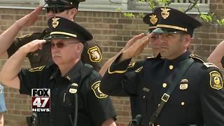 Jackson area honors fallen officers - Video