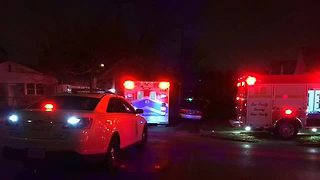 3 firefighters injured while fighting a fire in a vacant house early Friday morning - Video