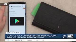LJK: Warning about saving payment information in your smartphone