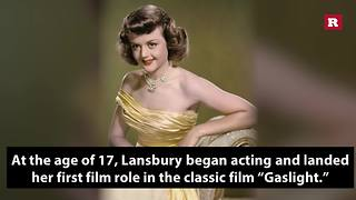 9 facts about Angela Lansbury | Rare People - Video