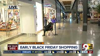Early Black Friday shopping2 - Video