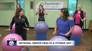 Fun activities for national senior health and fitness day - Video