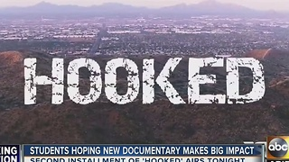 ASU students hope second documentary about drug addiction makes big impact - Video