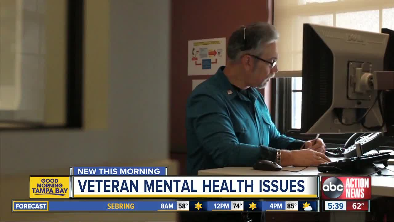 VA, local support groups working to combat mental health issues
