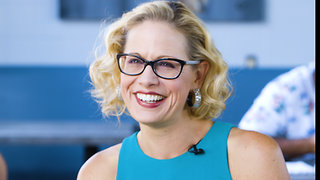 Kyrsten Sinema Becomes First Democratic Senator in Arizona in Three Decades