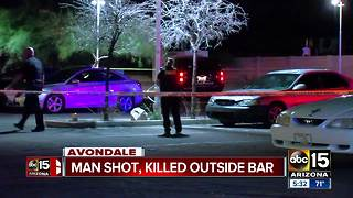 Police investigating Avondale shooting that left man dead - Video