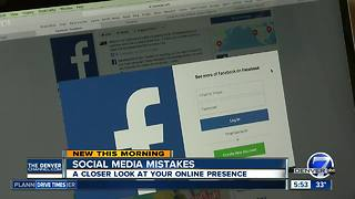 Social media mistakes: A closer look at your online presence - Video