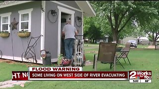 Tulsa police tell mobile home park residents to evacuate