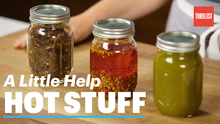 Make Your Own Spicy Condiments - Video