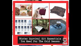Winter Survival Kit Essentials You Need For The Cold Season.