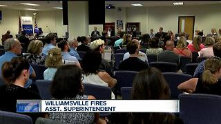 School board votes to fire administrator