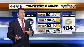 13 First Alert Weather for Aug. 31 - Video