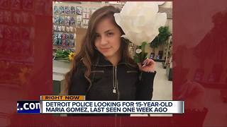 Detroit police searching for missing 15-year-old girl last seen on June 22