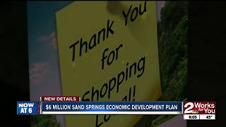 Sand Springs economic development plan - Video