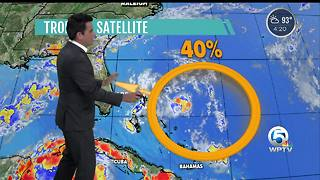 Watching a tropical wave - Video