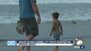 IB asking for investigation into sewage spill - Video